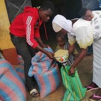 Address food shortages and support urgent Coronavirus response image
