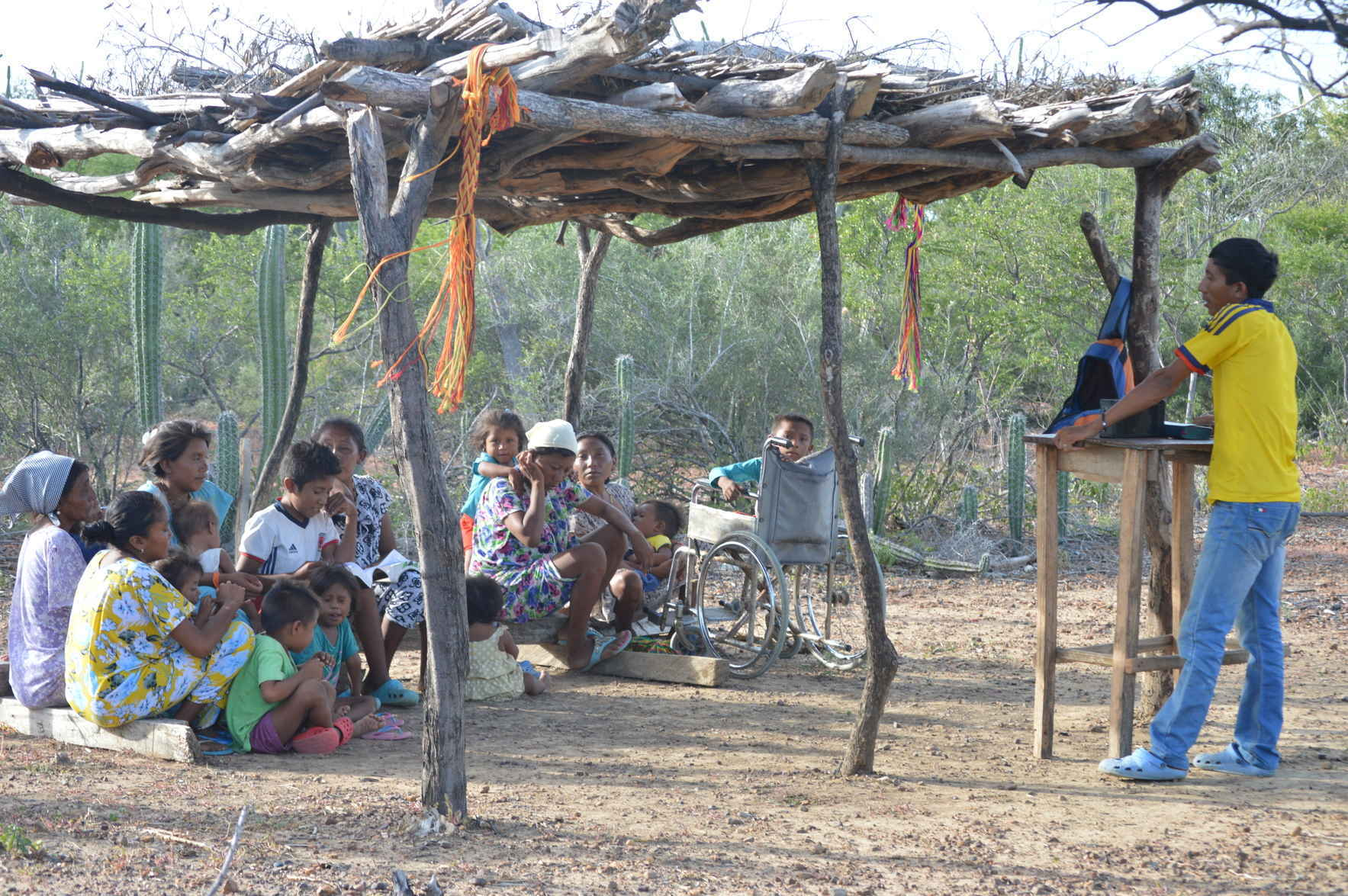 Support a Wayuu Pastor during the coronavirus crisis image