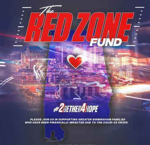 The Red Zone Fund will deploy resources to support those affected by COVID-19 in the Pleasant Grove and Hueytown communities image