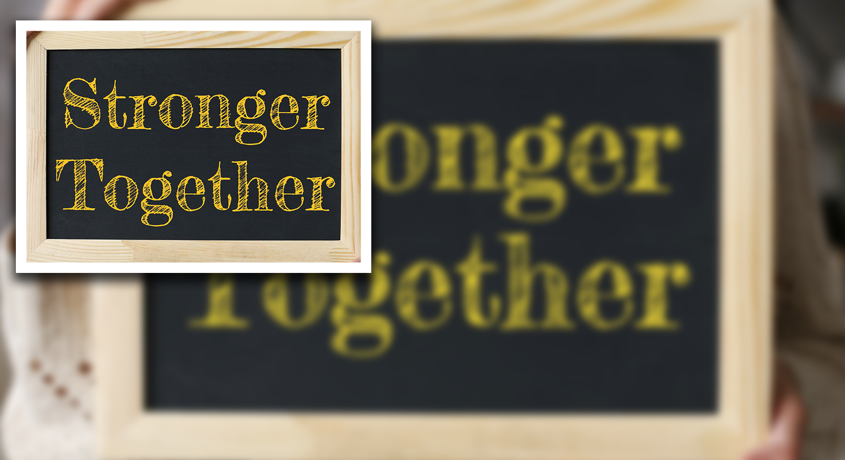 We Are Stronger Together  image