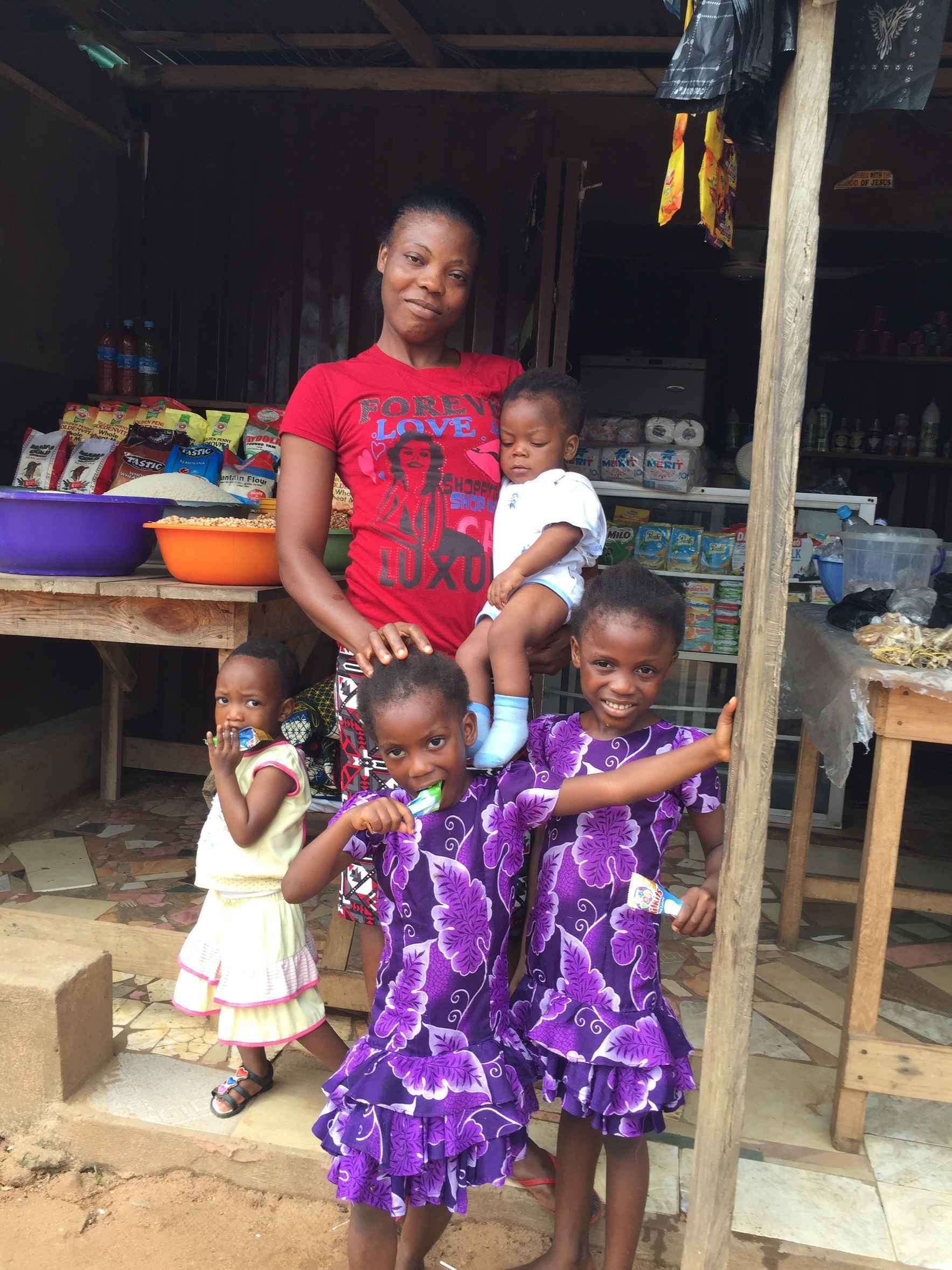 Helping West African families and children through the Covid-19 crisis image