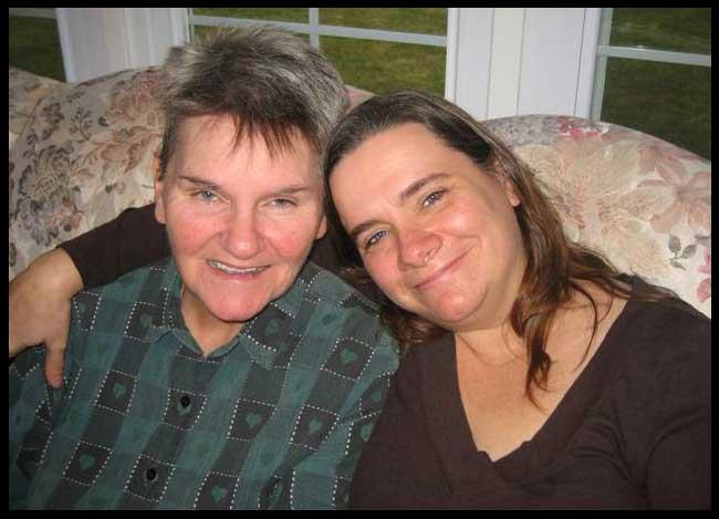Mom & Me at Christmas, 2006