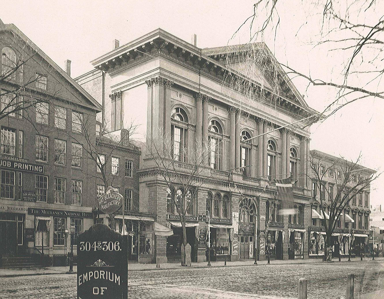 Mechanics Hall circa1870