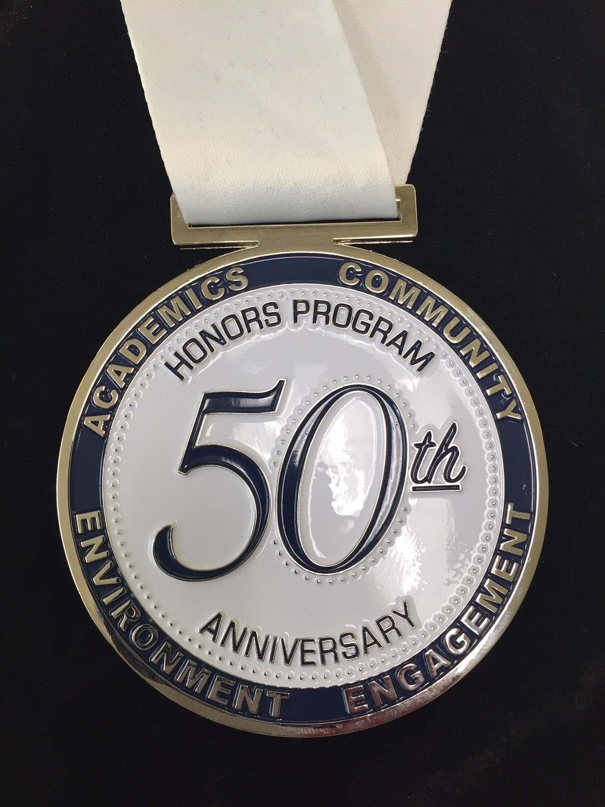 Honors 50th Medal