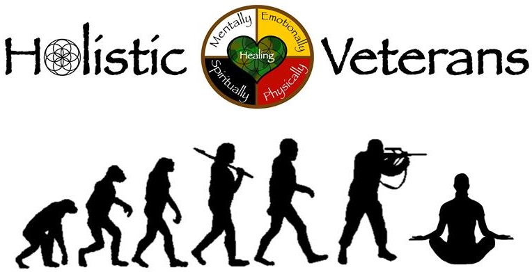 Born to Heal - Holistic Veterans Official Logo