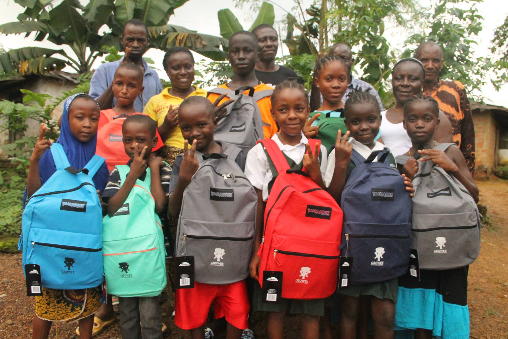 GBOWEE PEACE FOUNDATION AFRICA-USA - Book Bag Drive 2019