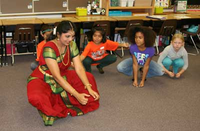 Indian Dance Lesson