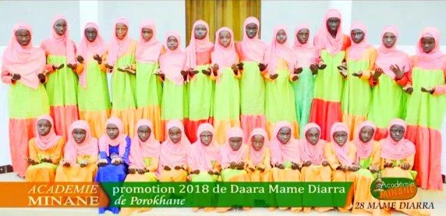 Graduation of Class 2018 Daar Mame Diarra Porokhane