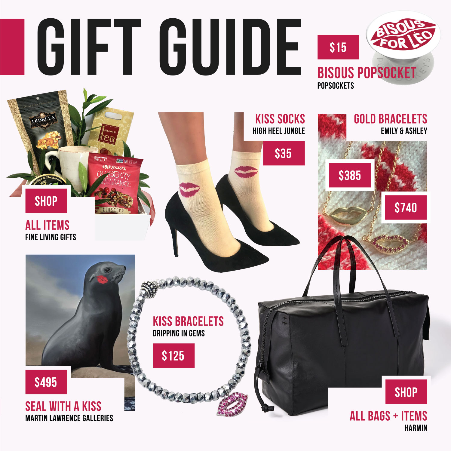 Bisous for Leo Gift Guide