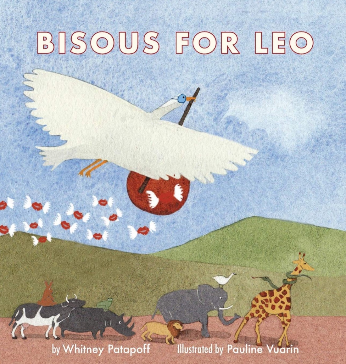 Bisous for Leo Book