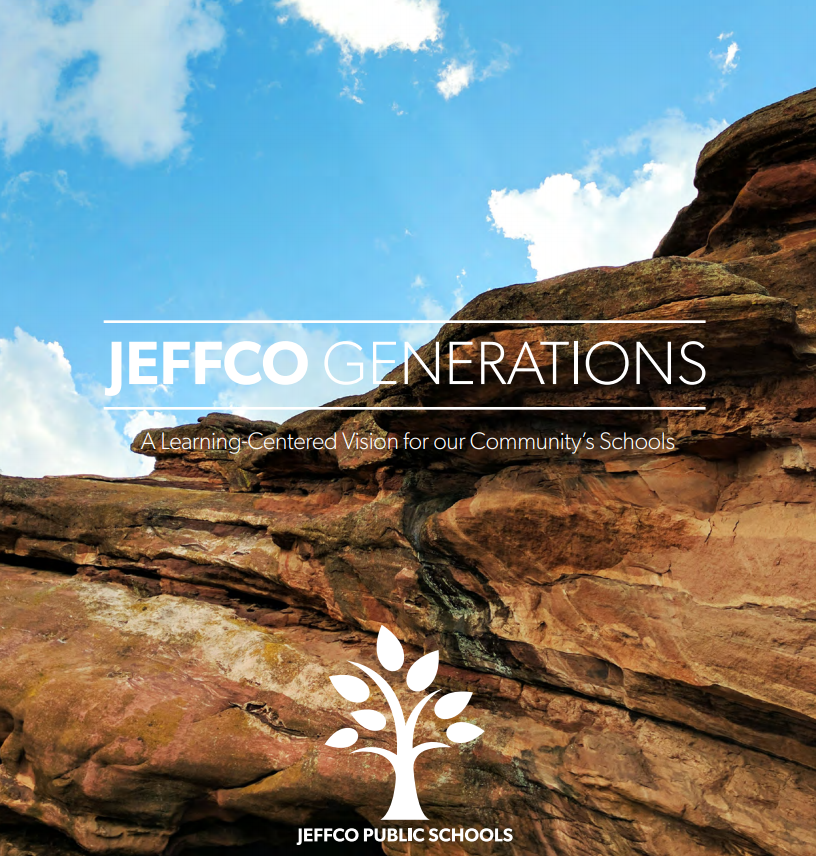 Our community has been investing in Jeffco artists from generation to generation. This is reflected in Jeffco's community vision - Jeffco Generations.
