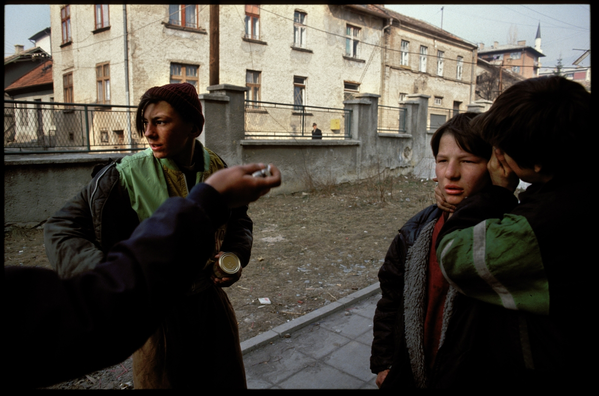 from the heart productions sarajevo roses a cinematic essay richards photographed the lives of the children during the war and in the film as we return to the orphanage