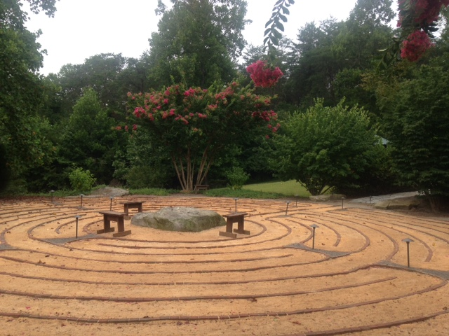 Labyrinth at Well of Mercy