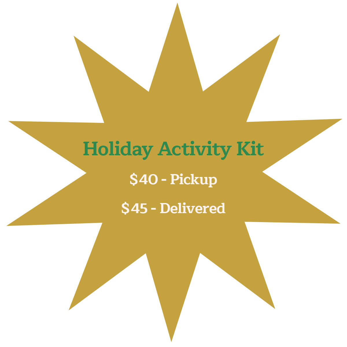 Holiday Activity Kit