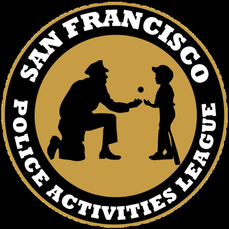 SAN FRANCISCO POLICE ACTIVITIES LEAGUE logo