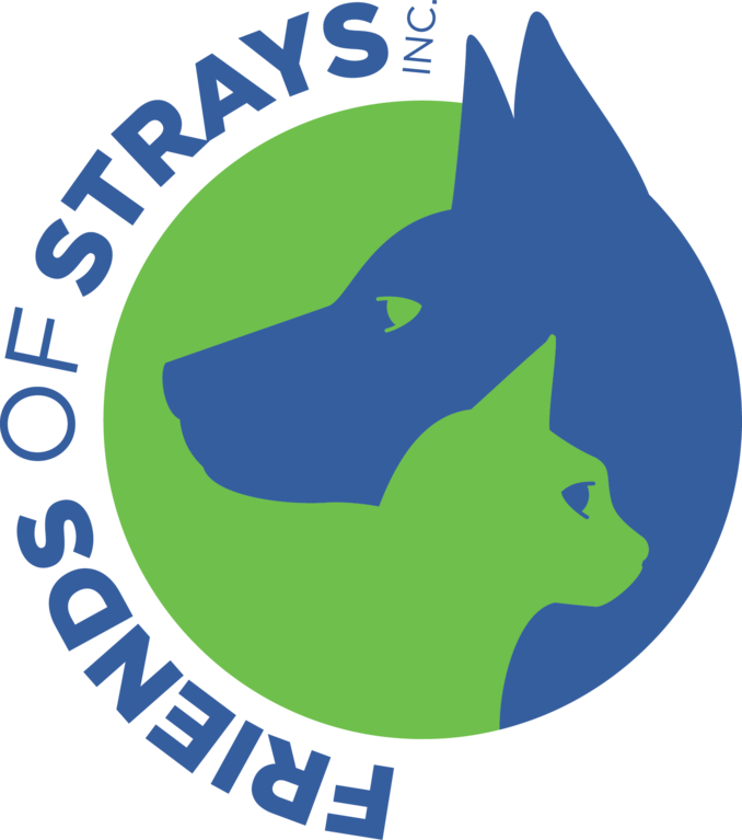 Friends of Strays Animal Shelter logo