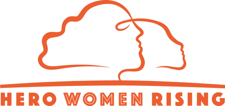 HERO WOMEN RISING logo