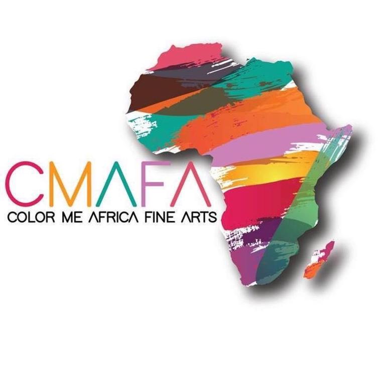 Color Me Africa Fine Arts logo