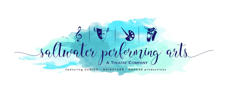 Saltwater Performing Arts logo