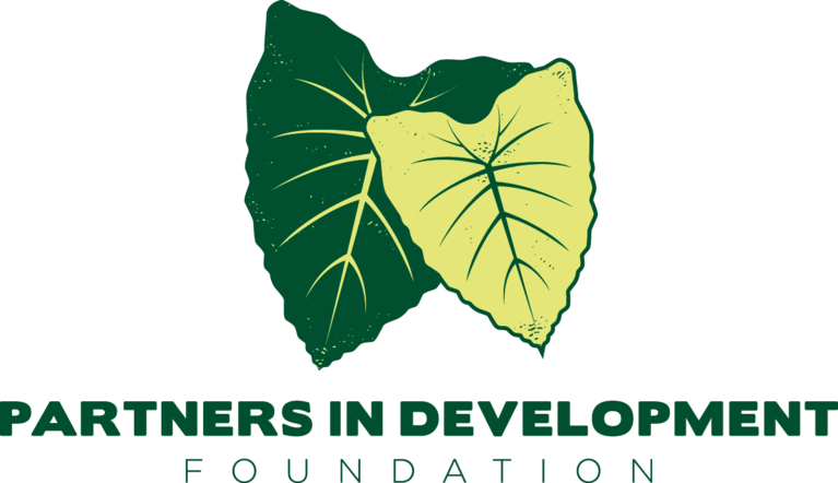 PARTNERS IN DEVELOPMENT FOUNDATION logo