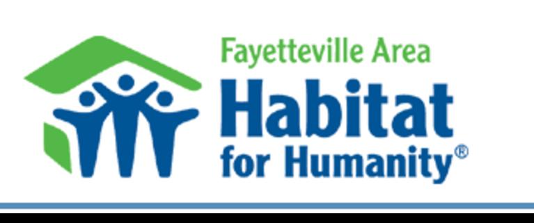 Fayetteville Area Habitat for Humanity