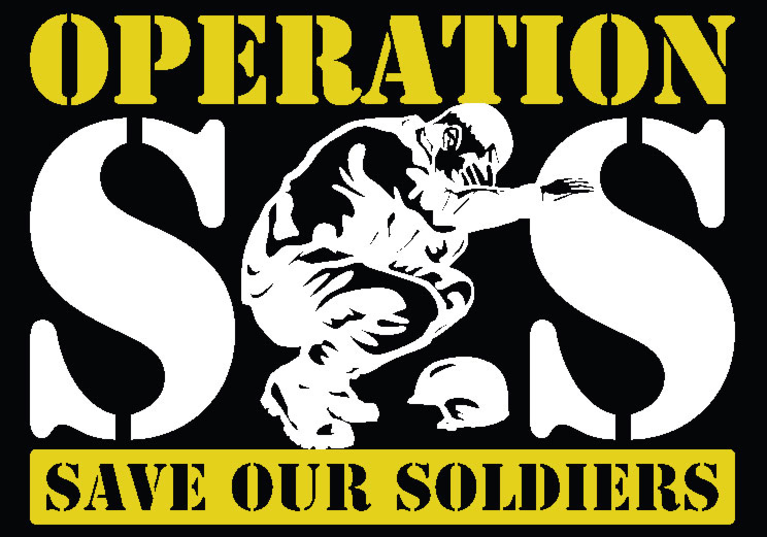 Operation Save Our Soldiers logo