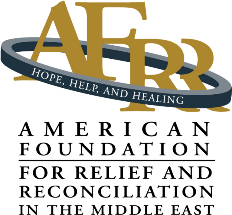 American Foundation for Relief and Reconciliation in the Middle East logo
