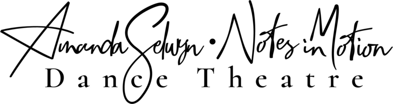 Amanda Selwyn Dance Theatre/Notes in Motion logo