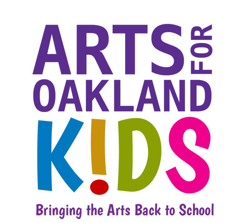 Arts for Oakland Kids logo