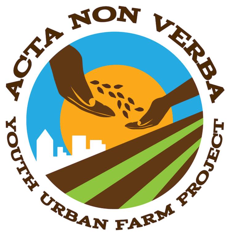 ACTA NON VERBA YOUTH URBAN FARM PROJECT logo