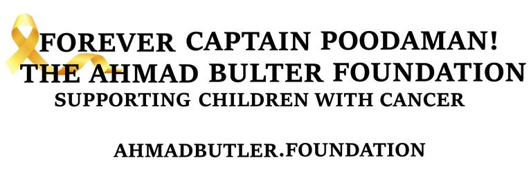 Forever Captain Poodaman the Ahmad Butler Foundation logo