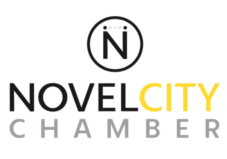 Novel City Chamber of Innovation logo
