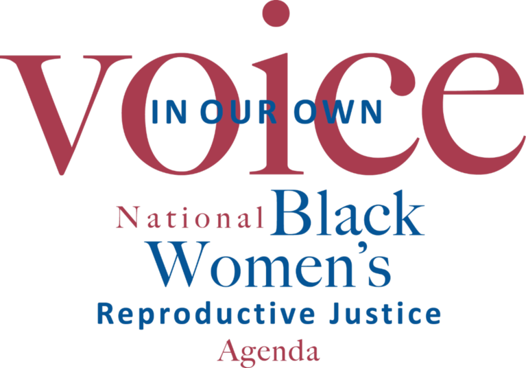 In Our Own Voice National Black Womens Reproductive Justice Agenda