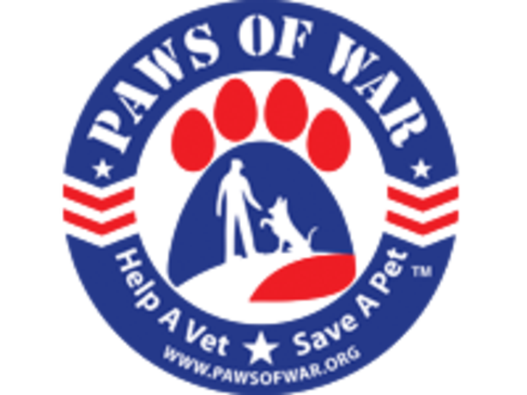 PAWS OF WAR INC logo