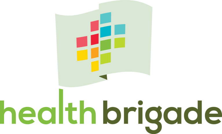 Health Brigade logo