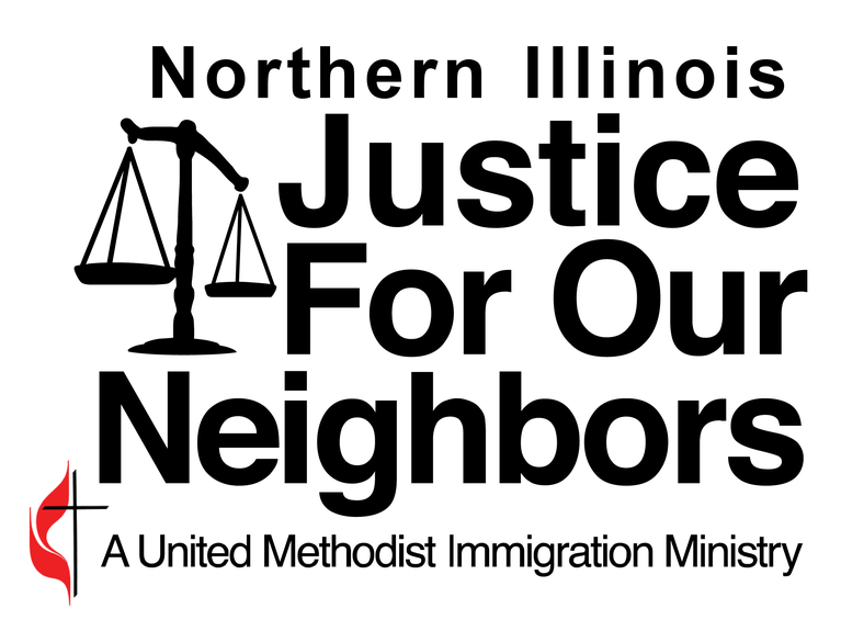 Northern Illinois Justice for Our Neighbors logo