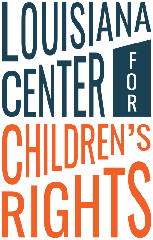 LOUISIANA CENTER FOR CHILDRENS RIGHTS logo
