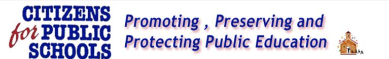 CITIZENS FOR PUBLIC SCHOOL INC