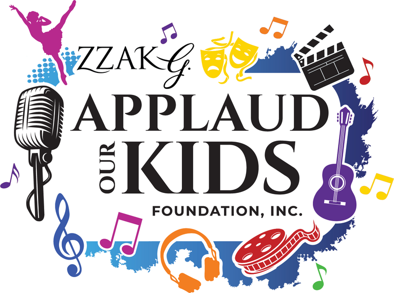 Zzak G Applaud Our Kids Foundation Inc logo