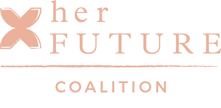 Her Future Coalition, a Project of T.E.N Charities logo