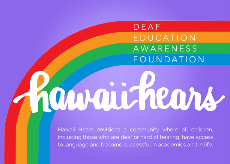 Deaf Education Awareness Foundation logo