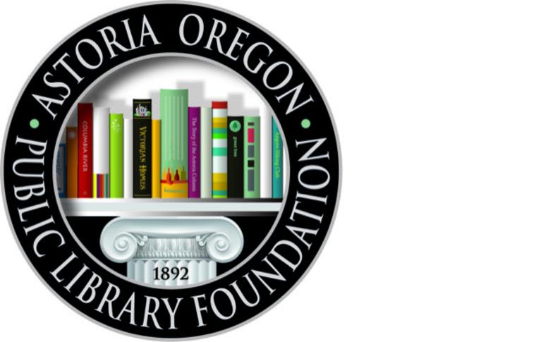 ASTORIA OREGON PUBLIC LIBRARY FOUNDATION logo