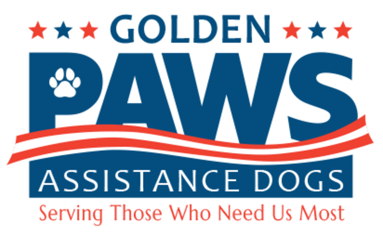 Golden PAWS Assistance Dogs logo