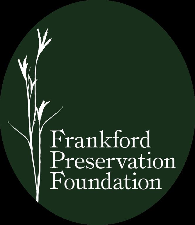 FRANKFORD PRESERVATION FOUNDATION logo