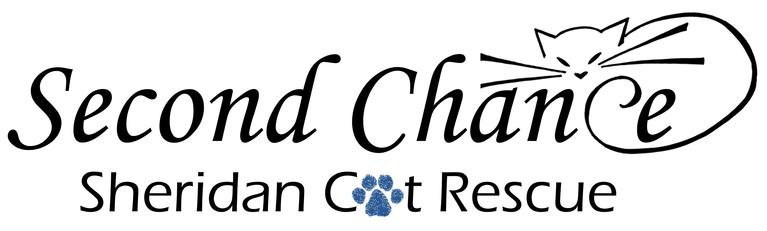 Second Chance Sheridan Cat Rescue logo