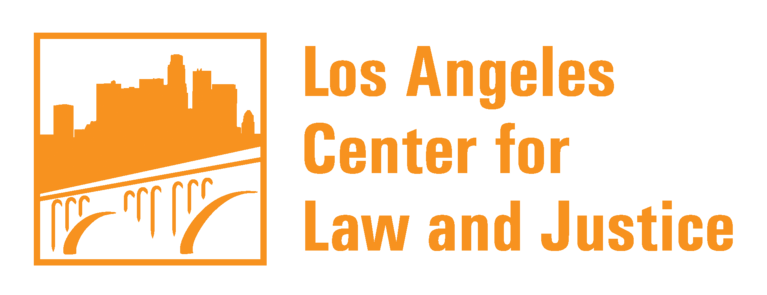 Los Angeles Center for Law and Justice logo