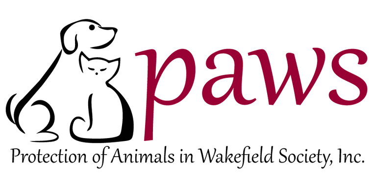Protection of Animals in Wakefield Society, Inc. (PAWS) logo