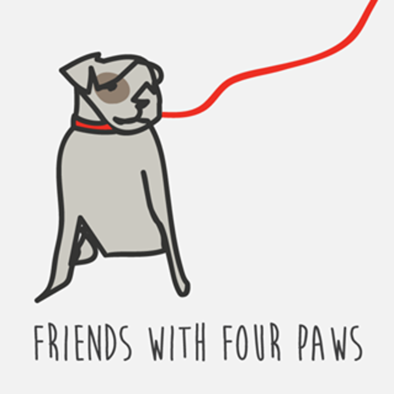 FRIENDS WITH FOUR PAWS FOUNDATION OF THE CHICKASHA ANIMAL WELFARE DI logo