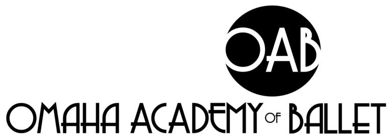 Omaha Academy of Ballet logo