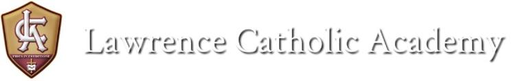 Lawrence Catholic Academy of Lawrence Massachusetts logo